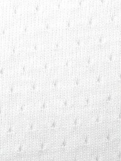 FRANCE DUVAL-STALLA Coton jersey ajourÇ Blanc 2