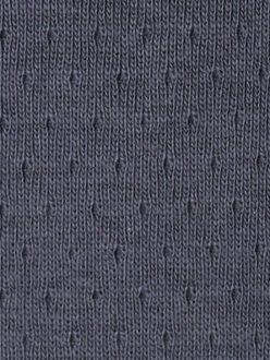 FRANCE DUVAL-STALLA Coton jersey ajourÇ Encre 2