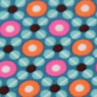 Kit couture prêt-à-coudre salopette et son petit sact baluchon choix tissu PETIT PAN Piazza turquoise