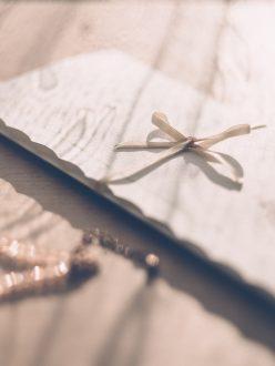 Canva - Close-up of Invitation Card