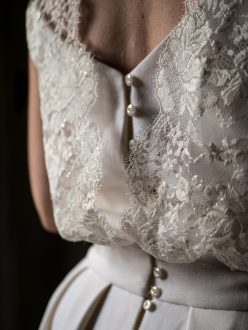 Patron de couture robe de mariée dos bustier